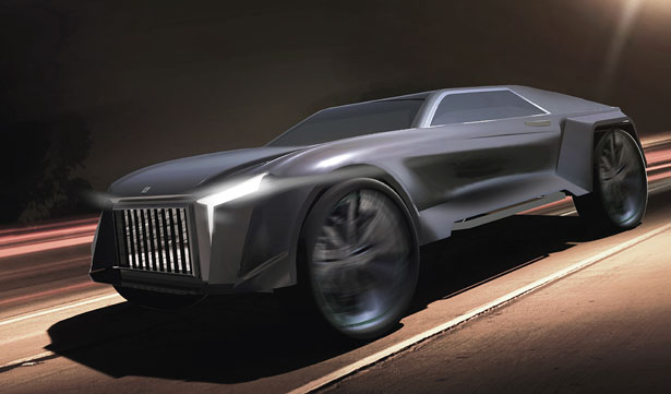 RR Regala Concept Car by Thian Kun Ming