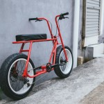 Ruckus Bike Features Lounge Seat Design