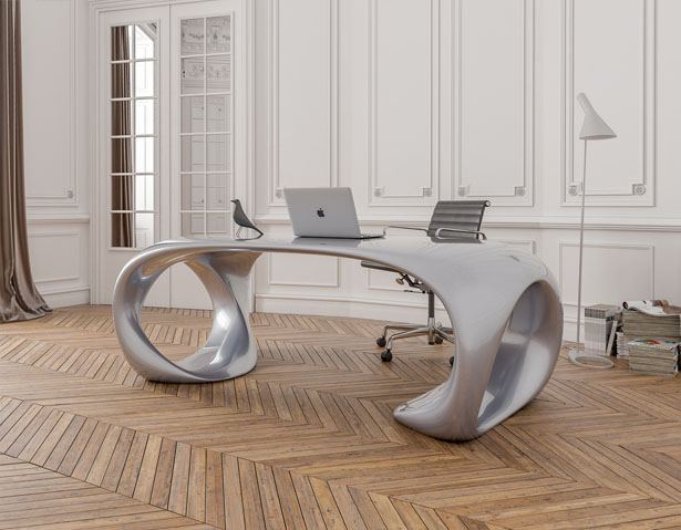 Runa Desk by Nüvist