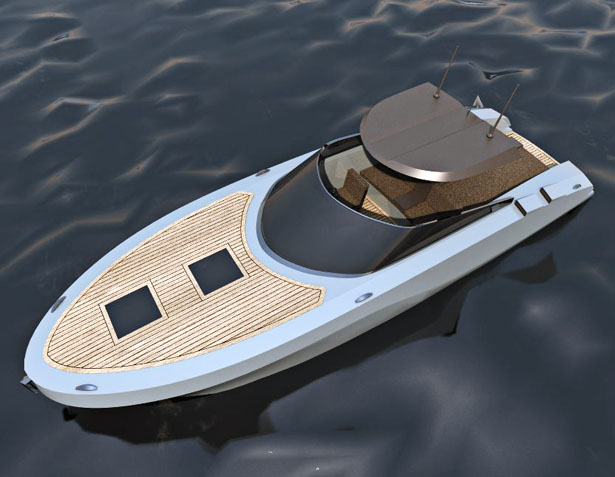 Runabout 32 Concept Boat by Ali Oztoygar