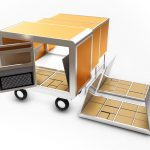 Rush Mobile Shelter : Modular, Extendable, and Multi-Functional Wagon for Shelter
