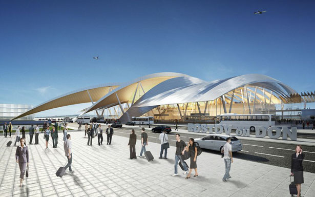 Rostov-on-Don Airport by Twelve Architects - Tuvie