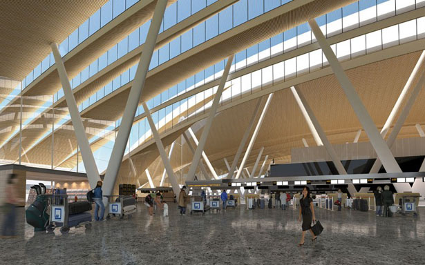 Russia Rostov-on-Don Airport by Twelve Architects