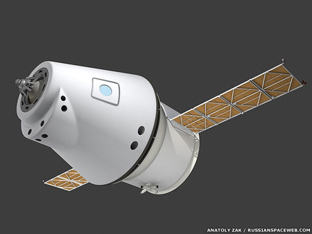 russian european manned spacecraft by rkk energia