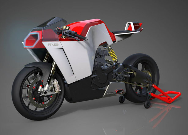 RV2 - V2 Engined Superbike by Eyal Melnick