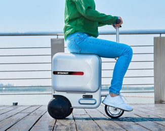 Rydebot Rideable Carry-on Luggage with Removable Lithium Battery