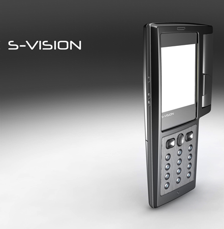 S-Vision Concept Mobile Phone for Business People