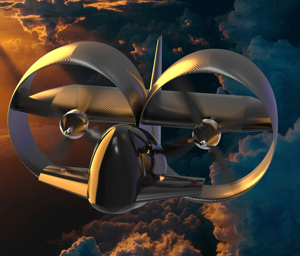S1 Flying Motorcycle for Future Personal VTOL Vehicle by Silverwing