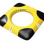 Safe.Space.Buoy : A Live Saving Equipment That Emits Orange Lights to Discourage Sharks From Approaching