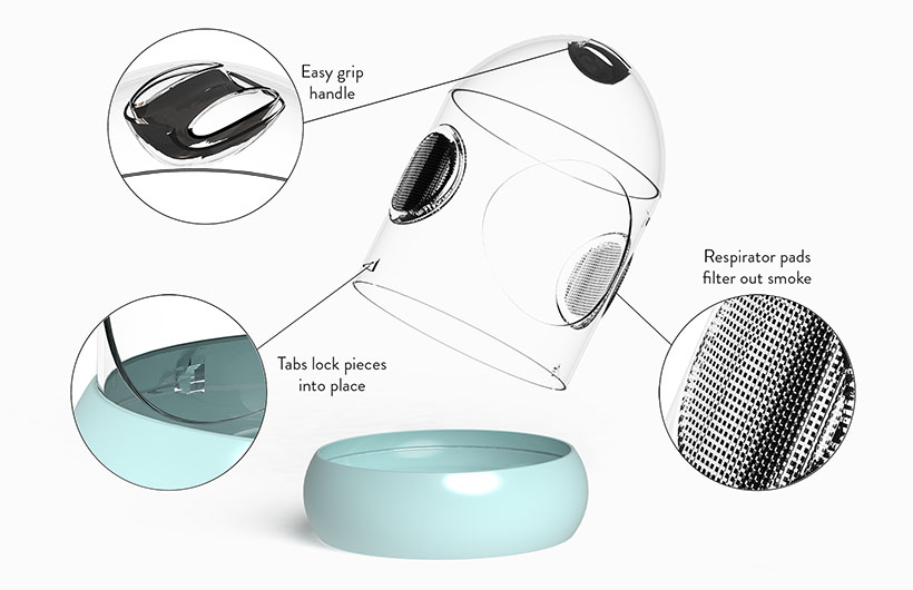 Safety Cocoon Pet Safety Device by Mayra Ramirez