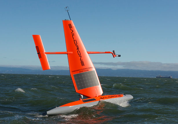 Saildrone Wind and Solar Powered Autonomous Surface Vehicle