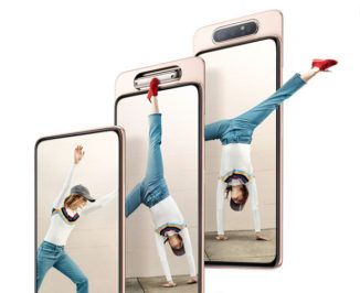 Samsung's Galaxy A80 Features Pop-Up Rotating Triple Camera