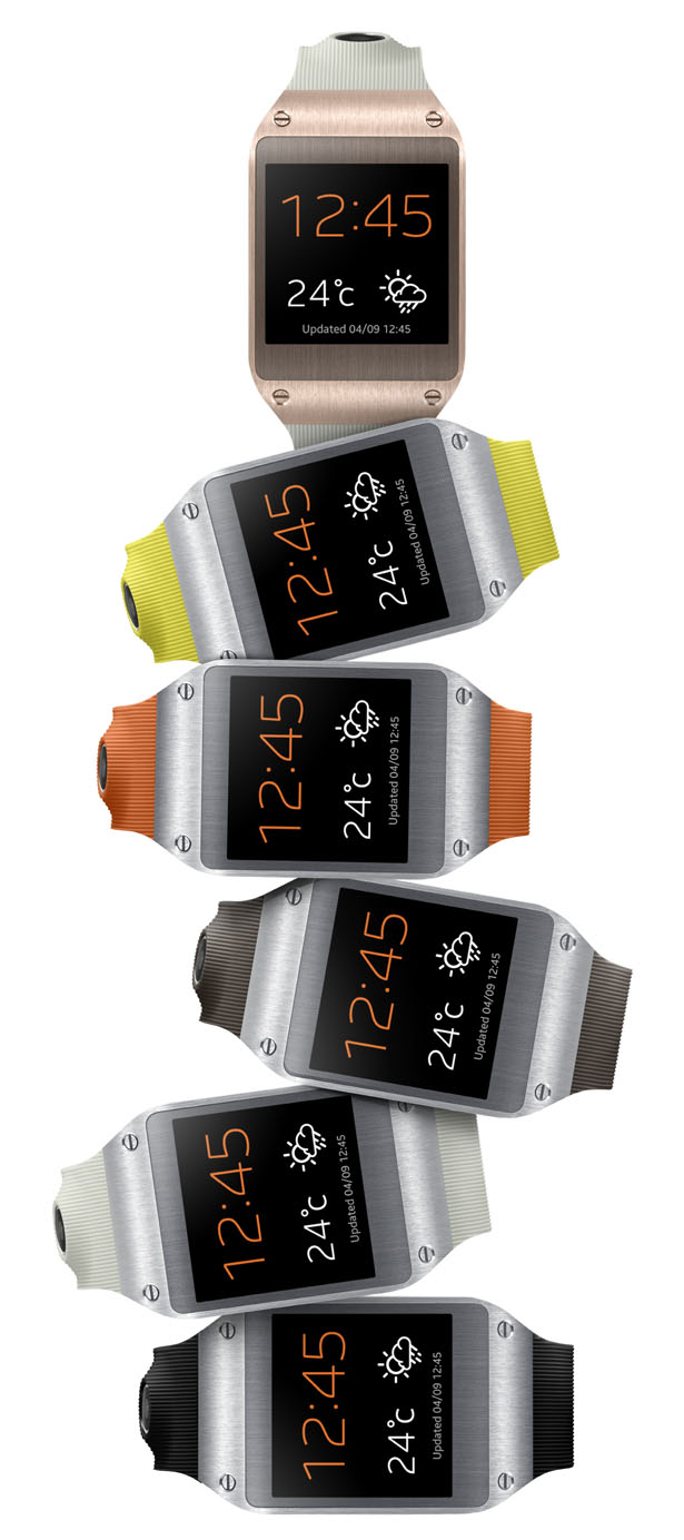 Samsung Galaxy Gear : A Perfect Companion to Your Samsung Galaxy and A Stylish Wristwatch