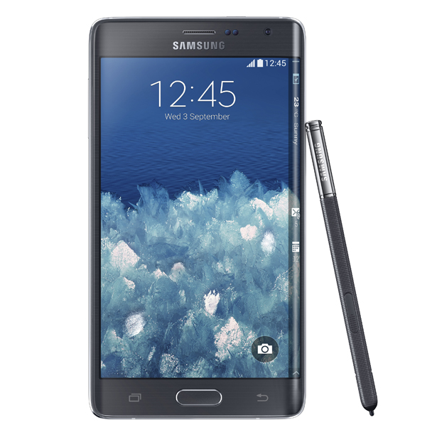 Samsung Galaxy Note Edge Features Curved OLED Display
