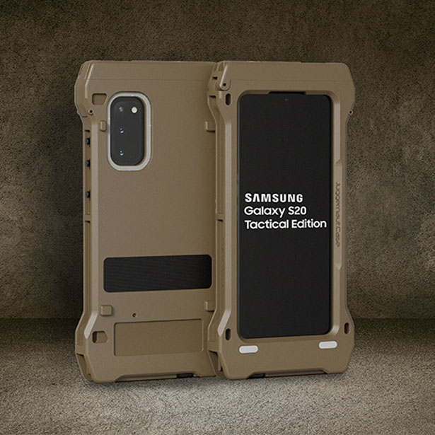 Samsung Galaxy S20 Military Smartphone - Tactical Edition