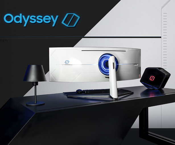Samsung Odyssey Curved QLED Gaming Monitor Line Up