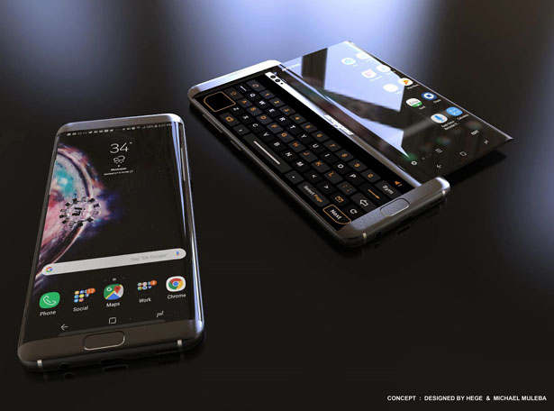 Samsung Oxygen Concept Smartphone by Mladen Milic and Michael Muleba