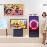 Samsung Sero Vertical TV for Millenials Who Love Watching Vertical Videos