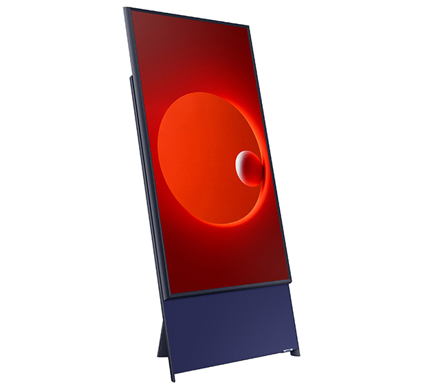 Samsung The Sero Vertical TV for millenials who love watching vertical videos