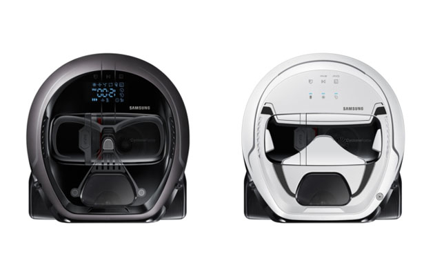 Star Wars Limited Edition of POWERbot Robot Vacuum - Stormtrooper or Darth Vader cleans your house