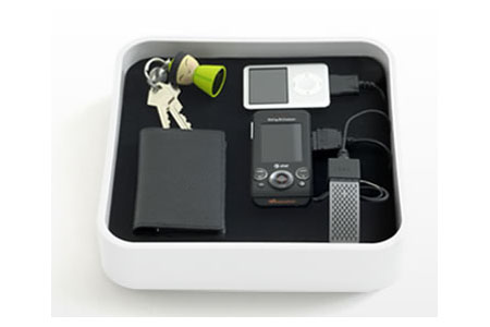 The Sanctuary Multi Charging Dock from Bluelounge