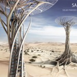Sand Babel : A Skyscraper Constructed of Sand Using Solar Powered 3D Printing Technology
