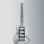 Sandvik 3D Printed Smash-Proof Guitar Where The Neck and Freboard Are Milled from Solid Bars
