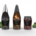 Sarom King Flexible and Functional Metal Barbeques by Emo Design