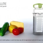 Satellite Multifunctional Grater Can Spread Its Wings When Needed