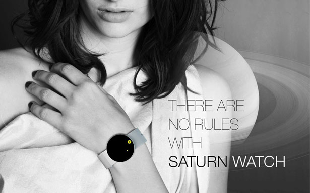 Saturn Watch by Marko Vuckovic
