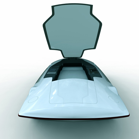 Saucer Vehicle : You Can Sleep While You Drive