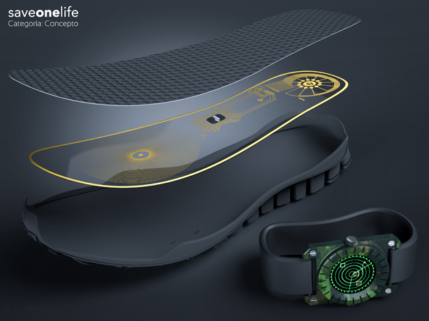 SaveOneLife : Electronic Devices to Detect Land Mines by Lemur Studio Design