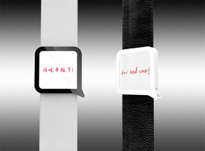 Say Time Watch Concept That Displays Sentences