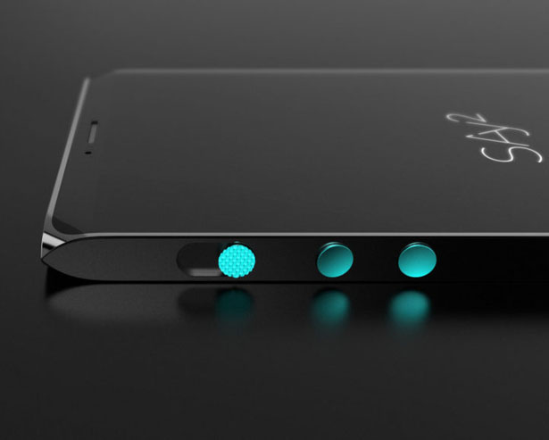 SAY2 Smartphone by Simon Yan of Bluemap design