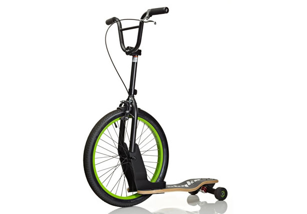 Sbyke Bike Scooter Skateboard Hybrid