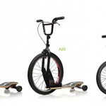 Sbyke : Bike, Scooter, and Skateboard Into One Personal Transportation