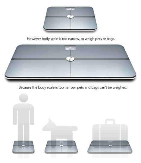 Scale Multi Functional Body Scale