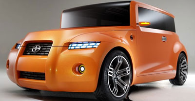scion hako coupe concept for young professionals
