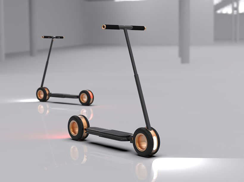Scoot.R - Folding Electric Scooter by Terry Chuong