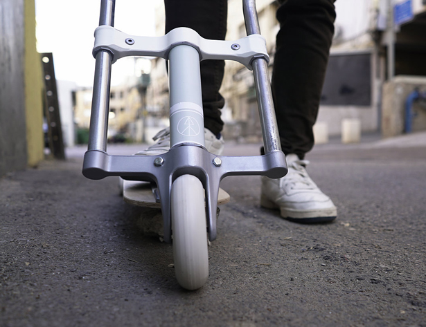 Scootboard : A Kickscooter Inspired by A Skateboard and A Longboard Design