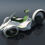 Futuristic Scorpio Electric Vehicle Concept Could Be Your Future Eco-Friendly Personal Vehicle