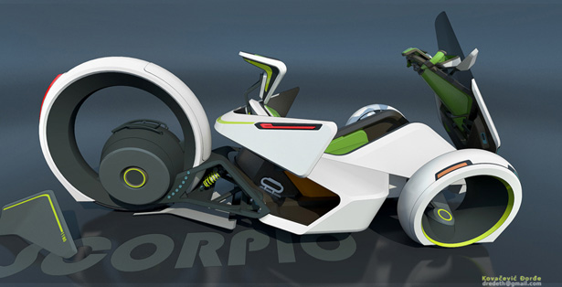 Scorpio Electric Vehicle by Djordje Kovacevic