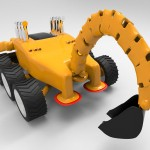 Scorpion Concept Excavator for JCB Features Greater Degree of Freedom