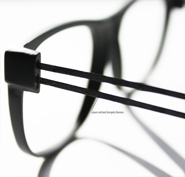 Screwless, Super-elastic Concept Glasses by Neethu Mathew