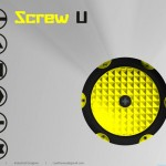 ScrewU : Screwdriver with Built-in 6 Bits and LED Light by Sudhanwa Chavan