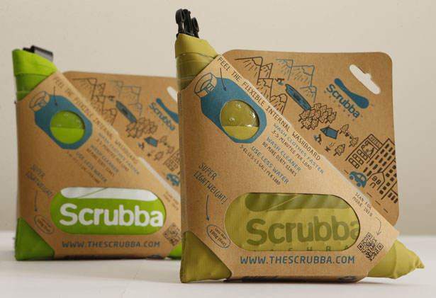 Scrubba Wash Bag by Ashley Newland