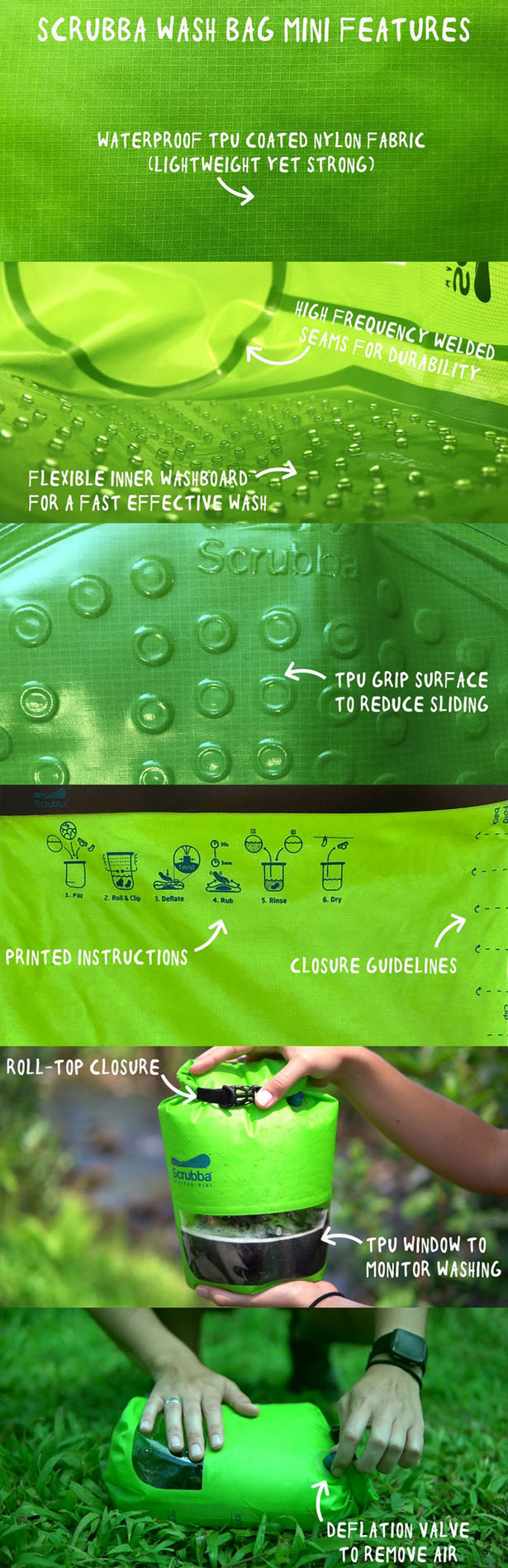 Scrubba Wash Bag MINI is Your Portable Washing Machine While Traveling