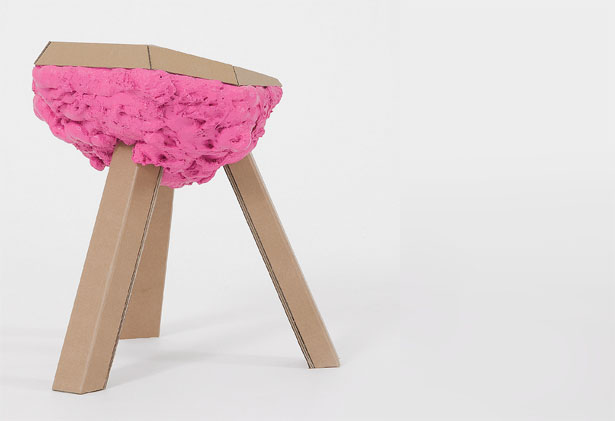 Scum Chair Cardboard Design With Legs