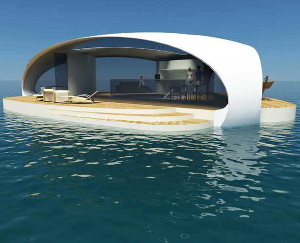 SeaScape Floating Villas by BMT Asia Pacific