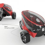 Seat ANT Concept Car for The Year of 2030
